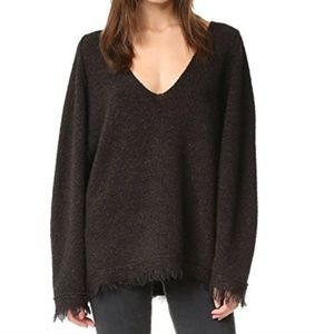 Free People Irresistible Fringe Sweater Small